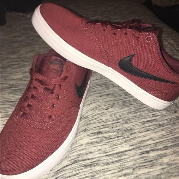 Nike Shoes | Nike Sb Maroon Shoes